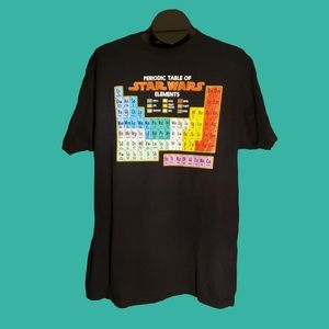 Periodic Table of Star Wars Elements TShirt